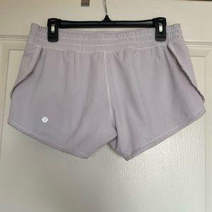 White Lululemon Shorts - Size 8